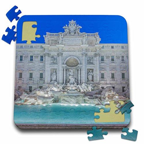 Danita Delimont - Fountains - Europe, Italy, Rome, Trevi Fountain at dawn - 10x10 Inch Puzzle (pzl_277641_2)