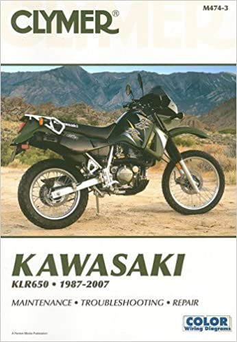 by james grooms kawasaki klr clymer color by james grooms kawasaki klr 650 1987 2007 3 clymer color wiring diagrams 3rd edition 7 14 08 james grooms com books