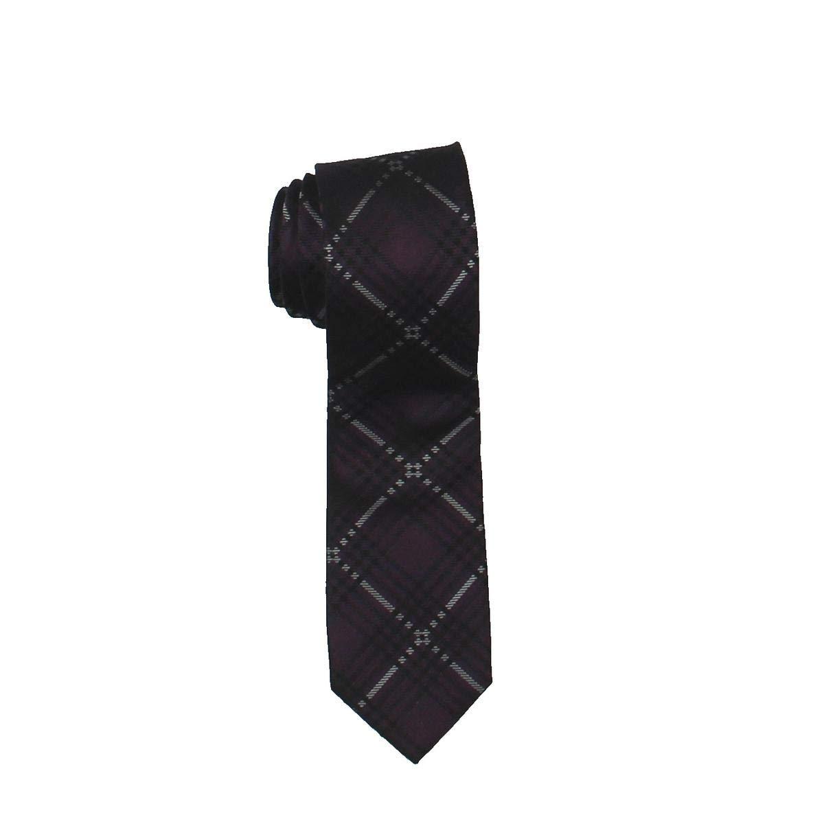 Ryan Seacrest Distinction Mens Stuido Plaid Necktie