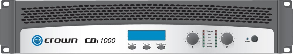 Crown CDi 1000 2 Channel Power Amplifier by Crown