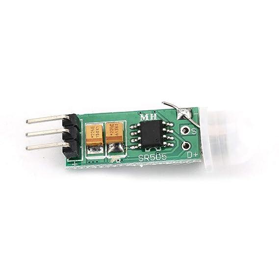 HC-SR505 Mini Infrared PIR Sensor de movimiento Preciso Módulo detector de infrarrojos para Arduino Sensor del cuerpo Interruptor Módulo Modo de detección ...