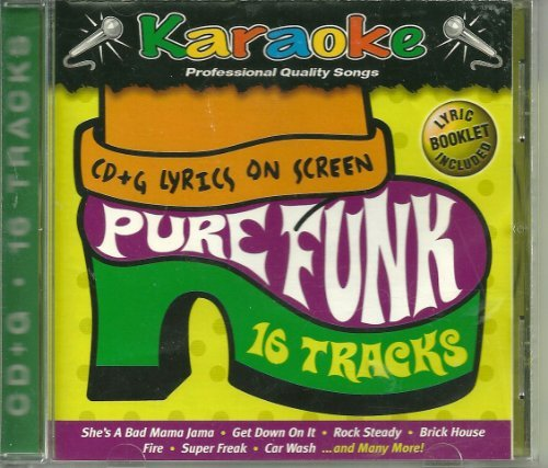 Karaoke Bay Pure Funk CD+G by