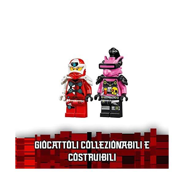 LEGO Ninjago Mech-Jet di Kai 2 In1 Set di Costruzioni Ricco di Dettagli con Digi Lame In 1 Jet, Spara con i Tuoi Shooter… 6 spesavip