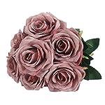 Duovlo-7-Heads-Vintage-Silk-Artificial-Flowers-Bouquets-Plastic-Wedding-Centerpieces-Arrangements-Decorations