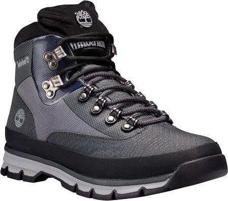 Timberland Men's Euro Hiker Jacquard Hiking Boot, Grey