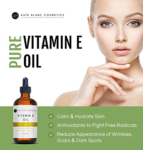 Vitamin-E-Oil-by-Kate-Blanc-Moisturizes-Face-and-Skin-Natural-D-alpha-Tocopherol-100-Pure-Extra-Strength-30000-IU-Reduce-Appearance-of-Scars-Wrinkles-Dark-Spots-1-Year-Warranty