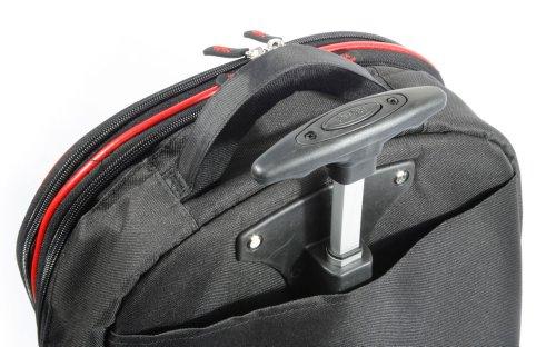 ab5bbe827f63 DURAGADGET Lightweight Laptop Trolley Bag With Heavy Duty Telescopic ...
