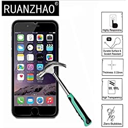 """Compatible for iPhone 8, 7, 6S, 6 Screen Protector Glass, amFilm Tempered Glass Screen Protector for Apple iPhone 8, 7, iPhone 6S, iPhone 6 [4.7"""" inch] 2017 2016, 2015 (2-Pack)"""
