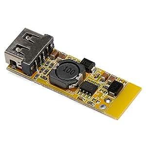 DROK DC-DC Buck Voltage Converter 8-22V 12V to 5V/3A USB Charger Step-down Volt Transformer Stabilizer Voltage Regulator Module Power Supply Switch Inverter Board for Car Recorder iphone ipad
