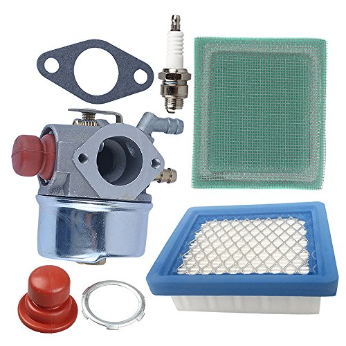 Hilom Carburetor Tune Up Kit For Tecumseh 640025 640025B 640025C 640004 640014 640117 640117A 640117B 640017 640135A OHH45 OHH55 OHH50 OHH60 OHH65 Snowblower Engine Carb ROTARY 13152 OREGON 50-653 by Hilom