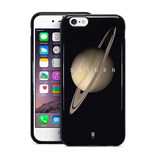 Call Candy 3d Imprimé Saturn Planet Collection pour Apple iPhone 6s Plus/6Plus–Noir