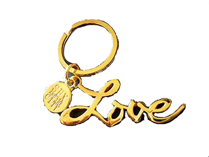 Love keychain in sex and the city