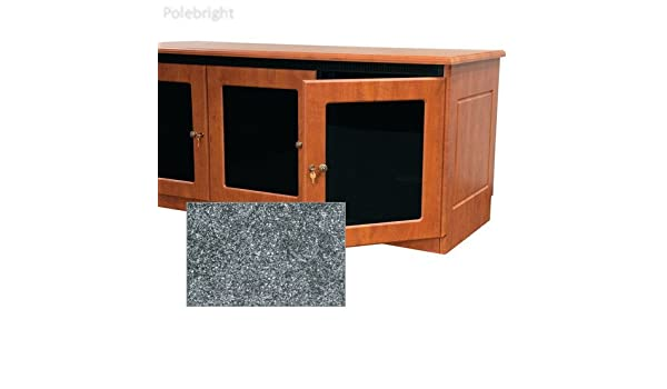 La Credenza Coop : Contemporary style finishing kit for 2 bay credenza rack greystone