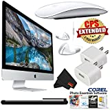 6Ave Apple iMac MK472LL/A 27-Inch Retina 5K Desktop 3.2GHz 8GB 1TB Fusion Drive + MicroFiber Cloth + Universal Stylus for Tablets + Corded Earbuds with In-Line Microphone Bundle