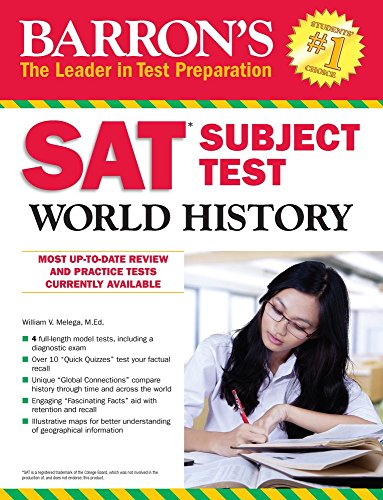 Barron's SAT Subject Test World History cover