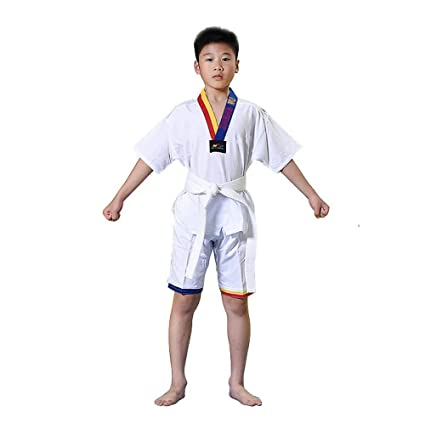 dududrz Dobok Taekwondo Ninos Algodón V Cuello Taekwondo ...