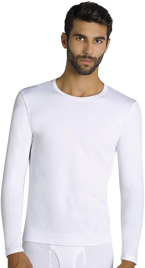 YSABEL MORA - Camiseta TERMICA Hombre Hombre Color: Blanco Talla: XX-Large: Amazon.es: Ropa y accesorios