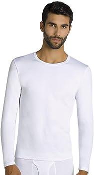 YSABEL MORA - Camiseta TERMICA Hombre Hombre Color: Negro Talla: Small: Amazon.es: Ropa y accesorios