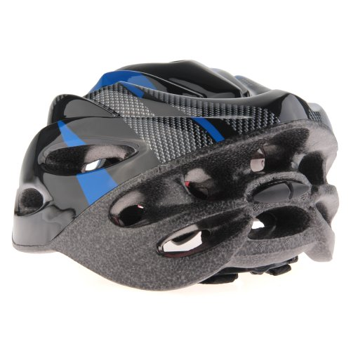 Casco Ciclismo Con Visera Azul Bici Bicicleta Mountain bike Helmet: Amazon.es: Deportes y aire libre