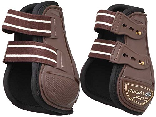 Brown Regal Pro MkIII Fetlock Boots