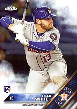 Amazoncom 2016 Topps Chrome Baseball 70 Tyler White Rookie Card