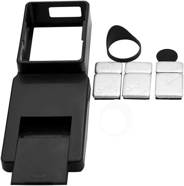 Black Handheld Stabilizer Mount Holder for DJI OSMO Mobile 2 Gopro Hero 3//3+//4 International Chargers XKSIKjians Travel Plug Adapter Voltage Converter
