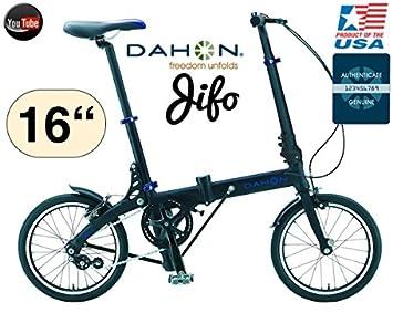 Bicicleta DAHON JIFO 40.64 cm/ultra compacto 9,1 kg modelo 2015/16