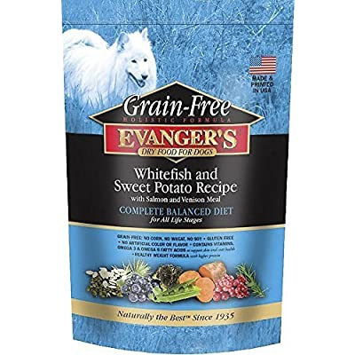 Evangers Whitefish And Sweet Potato Formula Dry Food For Dogs, 4.4 Lbs