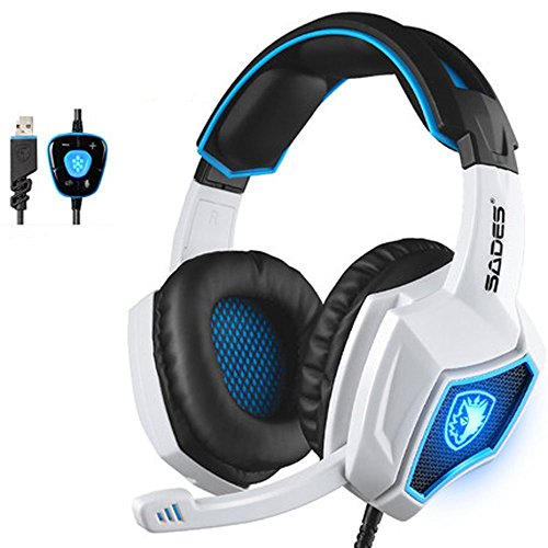 SPIRITWOLF Surround Computer Headphones Reduction product image