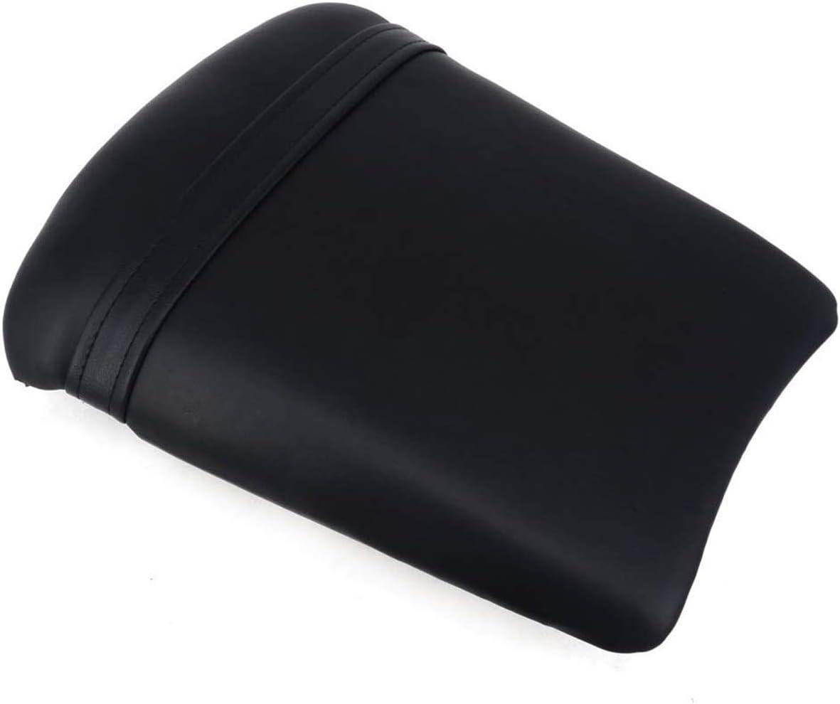 Coj/ín de pasajero Cubiertas trasero negro de la motocicleta Coj/ín del asiento trasero del Fundas de asiento para Yamaha YZF R1 2002-2003