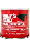 Wolf's Head Red Grease - 12/1lb cans