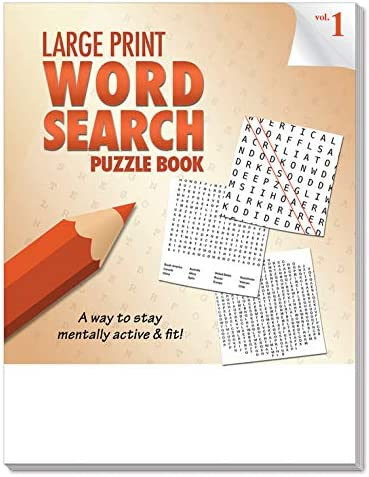 Bible Puzzle Books ZOCO 25 Pack: Large Print Bible Word Search Large Print Puzzle Books for Seniors in Bulk Word Search Bible