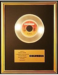 Michael Jackson & Paul McCartney Say Say Say 45 Platinum Record Award Columbia Records