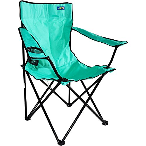 High-Back Large Quad Beach Chair - Mint ()