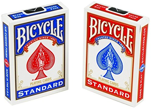 (Bicycle Standard Face Playing Cards, 2 Piece)