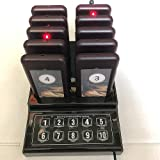 SHIHUI 10 Pager buzzers 1 keypad Queue Number