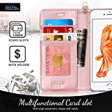 FYY Luxury PU Leather Wallet Case for iPhone 6