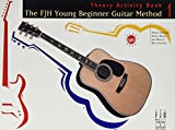 Books : FJH Young Beginner Guitar Method, Theory Activity Book 1