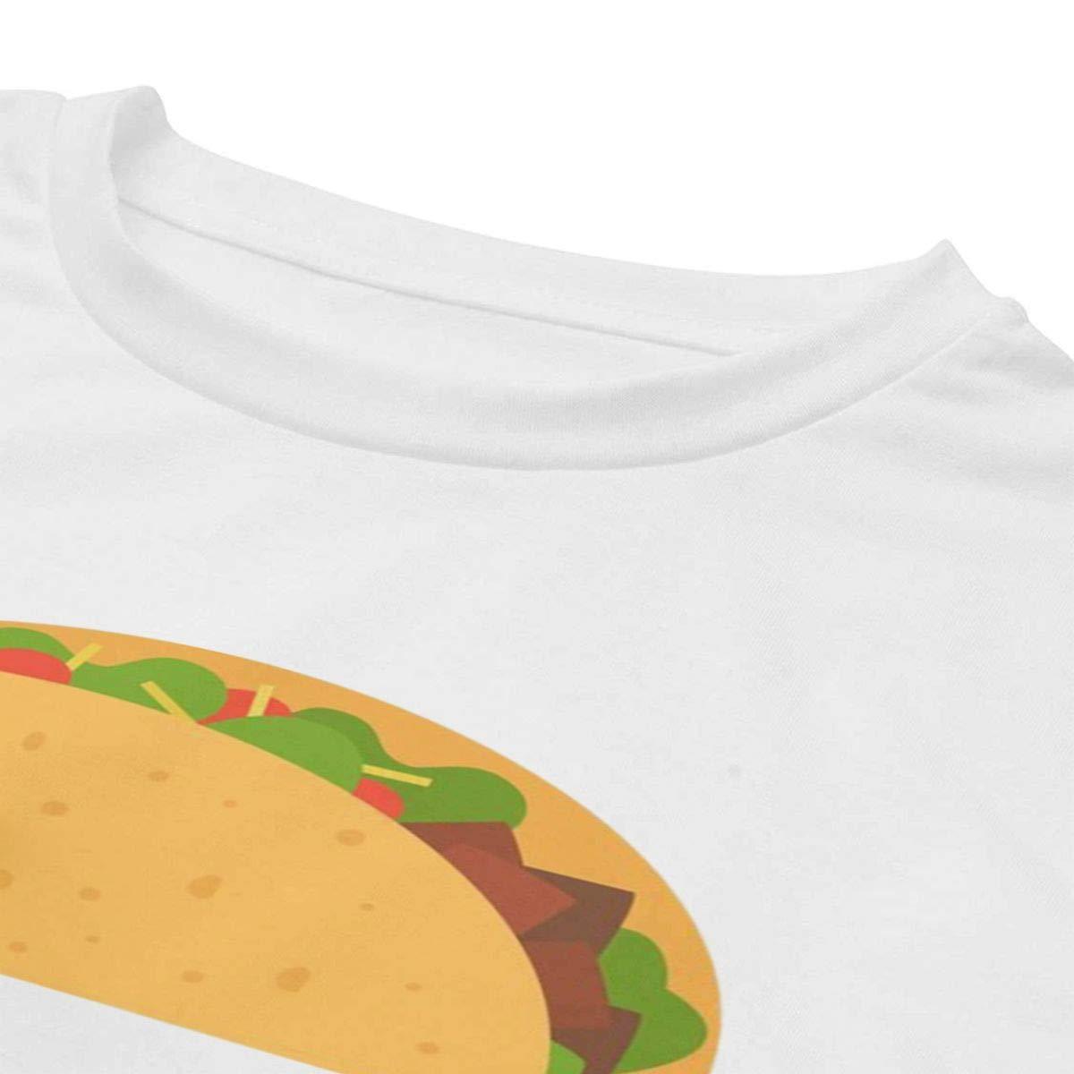 Its Taco Time T-Shirt Teen Girls Crop Tops Workout Gym Shirt Slim Fit Shirt