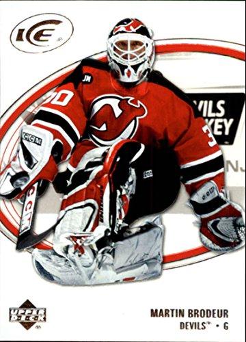 2005-06 Upper Deck Ice New Jersey Devils Team Set No SP 3 Cards Martin Brodeur MINT