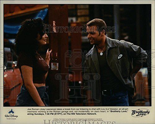 Press Photo Tv Series Brotherly Love Joey Lawrence Liz Vassey