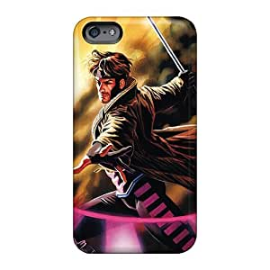 Shock Absorption Hard Phone Cases For Apple Iphone 6 Plus (nSl1011FWRH) Customized Vivid Gambit I4 Image