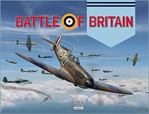 PSC 010 - Battle of Britain WW2 Strategy Board Games - Remastered TSR Game by Richard Borg B07DM77WSP
