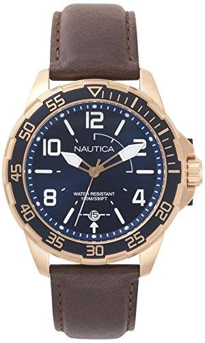 Nautica PILOT Quartz Stainless Leather product image