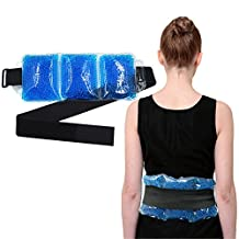 Migraine Relief Ice Pad Freezer Gel Pack Hot Cold Therapy Compress, Heating Cooling Compress, Great for Cool Summer Heat, Comfort Arthritis, Soft Headache