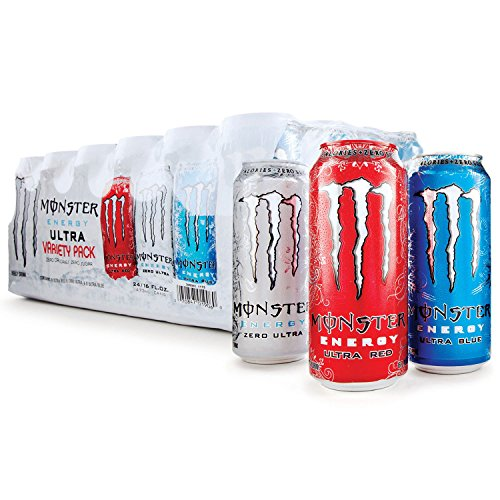 Monster Energy, 16 Ounce, Pack of 24 (Ultra Variety) IIIiii by Monster Energy