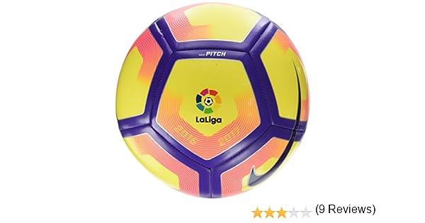 Nike Pitch La Liga Balón, Unisex Adulto, Amarillo (Yellow/Purple ...