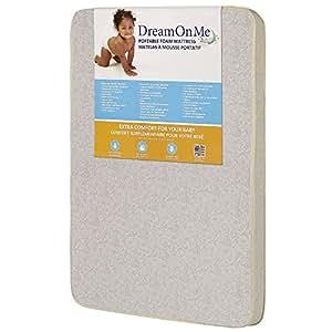 Amazon.com: Dream On Me - Colchón de espuma y juego: Baby