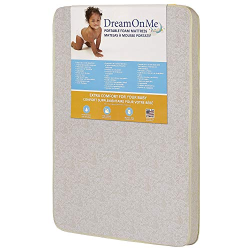 Dream On Me Foam Pack and Play Mattress (The Best Pack And Play)