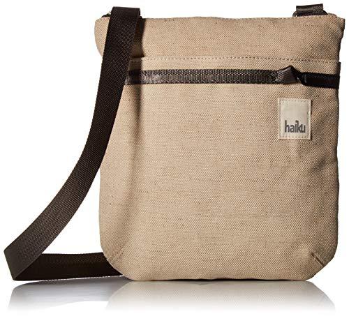 HAIKU Women's Small Revel Eco-Friendly RFID Blocking Crossbody Travel Bag, Hemp Cotton